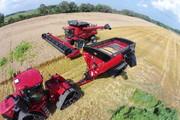 Catching combine, auger wagon, grain handling equipment, largest grain cart, grain cart with tracks