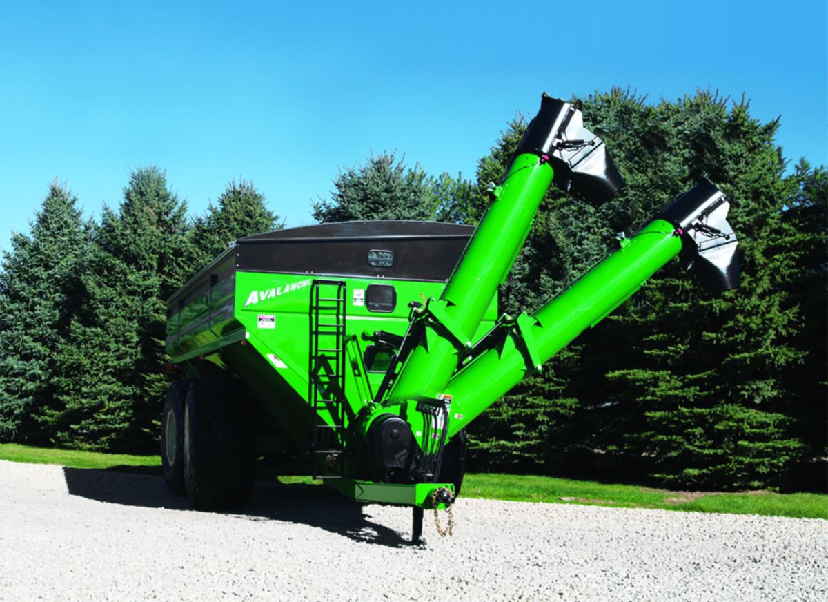 Dual Auger Grain Carts Avalanche 96-Series - Brent Grain