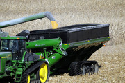 Grain cart, dual auger, double auger, 2000 bushel, grain handling