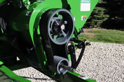 Belt-Driven Horizontal Auger WIth 90-degree Gearbox Driving Vertical