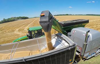 Brent V-Series Corner-Auger Grain Cart Features