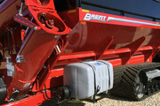 Water Tank Delivery System for Grain Carts