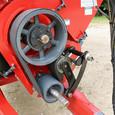 Double Auger Grain Cart Belt Drive System