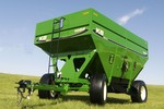 Model 1055 High Capacity Grain Wagon in Green
