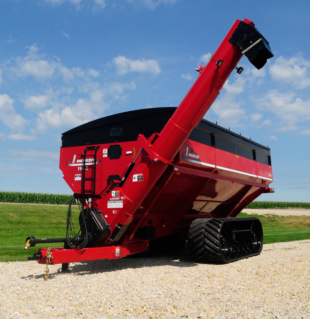 1648 Dual-Auger Grain Cart - Parker Equipment
