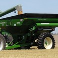 Model 524 Grain Cart in Green