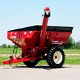 Model 524 Grain Cart in Red