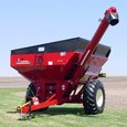 Model 624 Grain Cart in Red