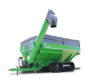 Parker 1354 Double Auger Grain Cart With Shadow
