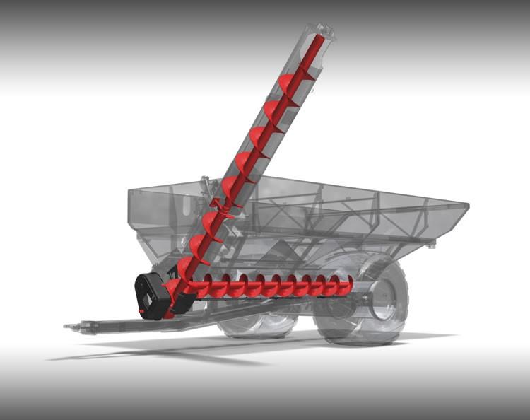 48-Series In-Line Auger Grain Carts - Parker Equipment