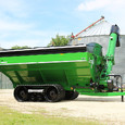 Parker Double Auger Grain Cart Overall Side View