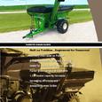 Parker Model 1139 Grain Cart
