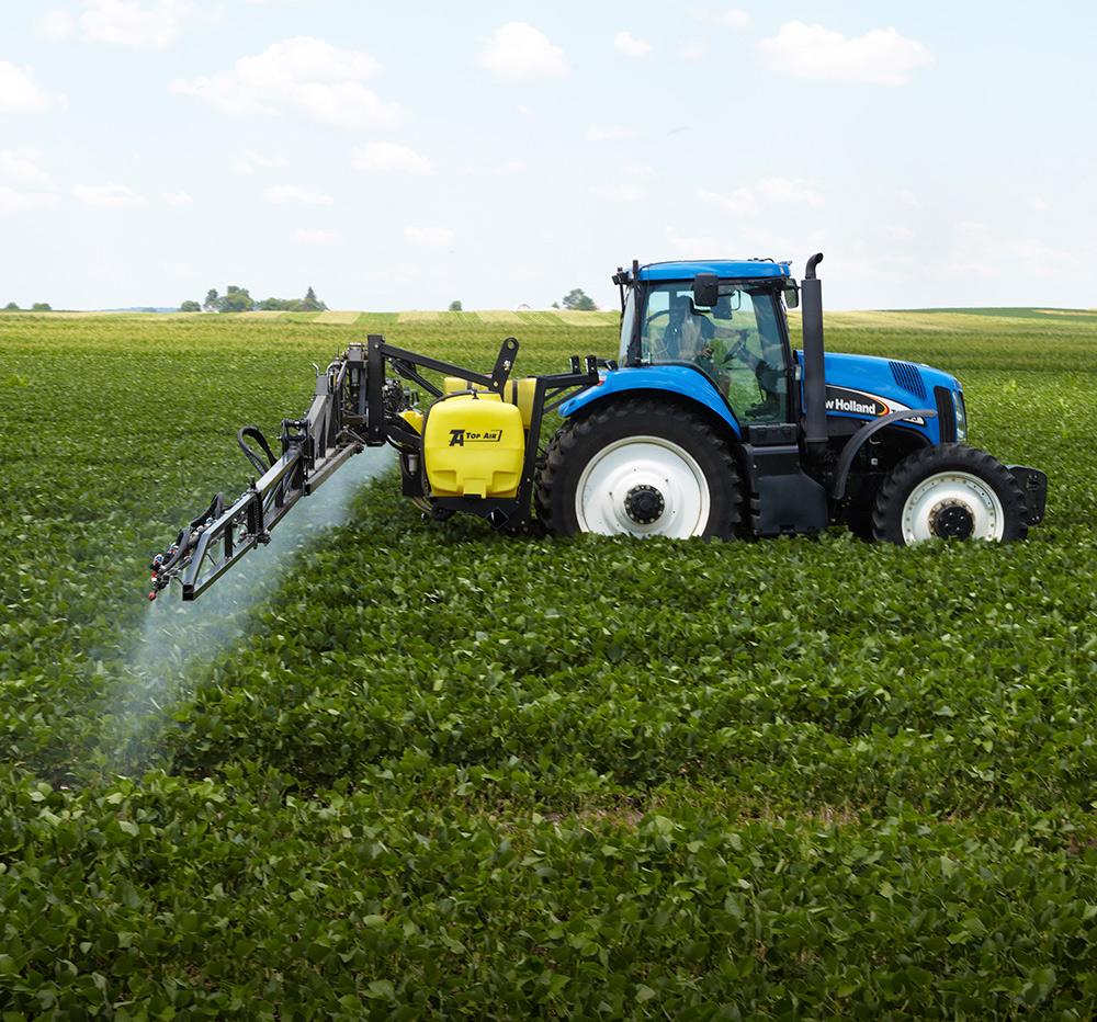 600-Gallon 3-Point Sprayers - Top Air Sprayers