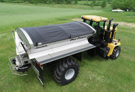 Pro-Force Dry Spreader Floater Chassis Mount with Fenders & Mudflaps