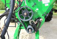 Dual Auger Grain Cart Belt Drive System