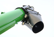 Dual Auger Grain Cart Downspout & LED Lights