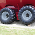 Dual Auger Grain Cart Fixed Tandem Undercarriage