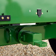 Rear Hitch for Trailing Wagons