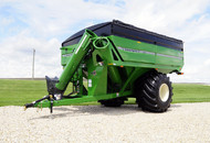 High Flotation Singles on 1117 X-TREME Grain Cart