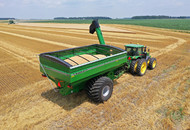 Model 1320 Dual Auger Grain Cart In Field