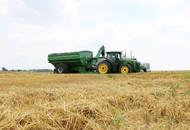 Model 1320 Dual Auger Grain Cart Unloading