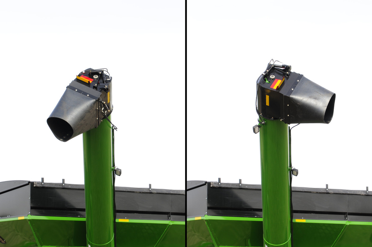 Grain Carts - 60-Series Corner Auger - Unverferth Grain Handling