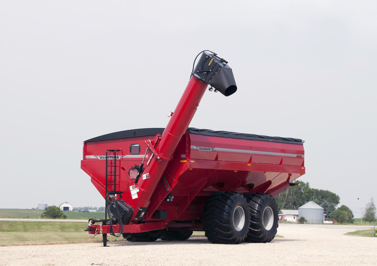 Grain Carts - Dual-Auger - Unverferth Grain Handling