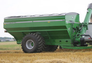 Unverferth Dual Auger Grain Cart High-Flotation Tires