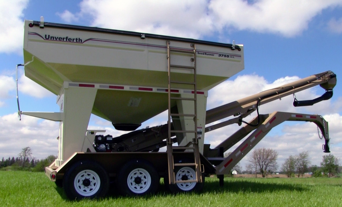 Seed Runner Bulk Tank Tender 55-Series | Weight Wagon