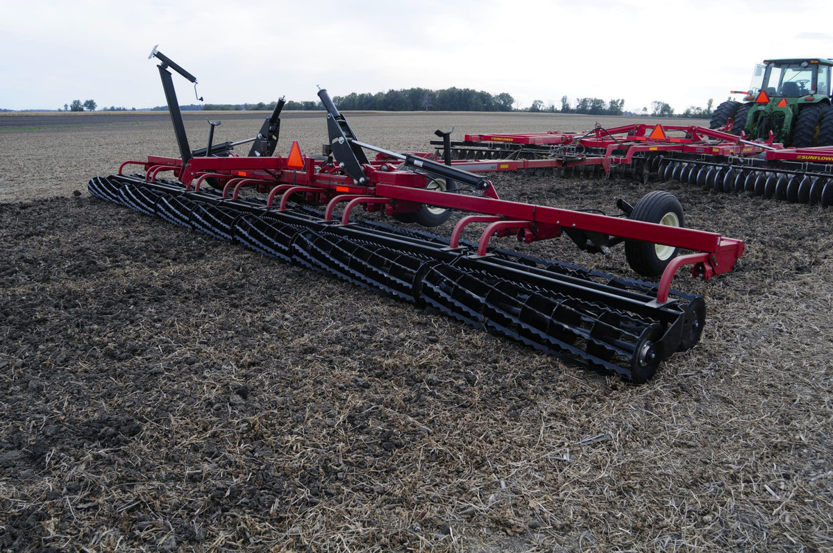 Rolling Basket Harrow : Rolling harrow unverferth seedbed tillage