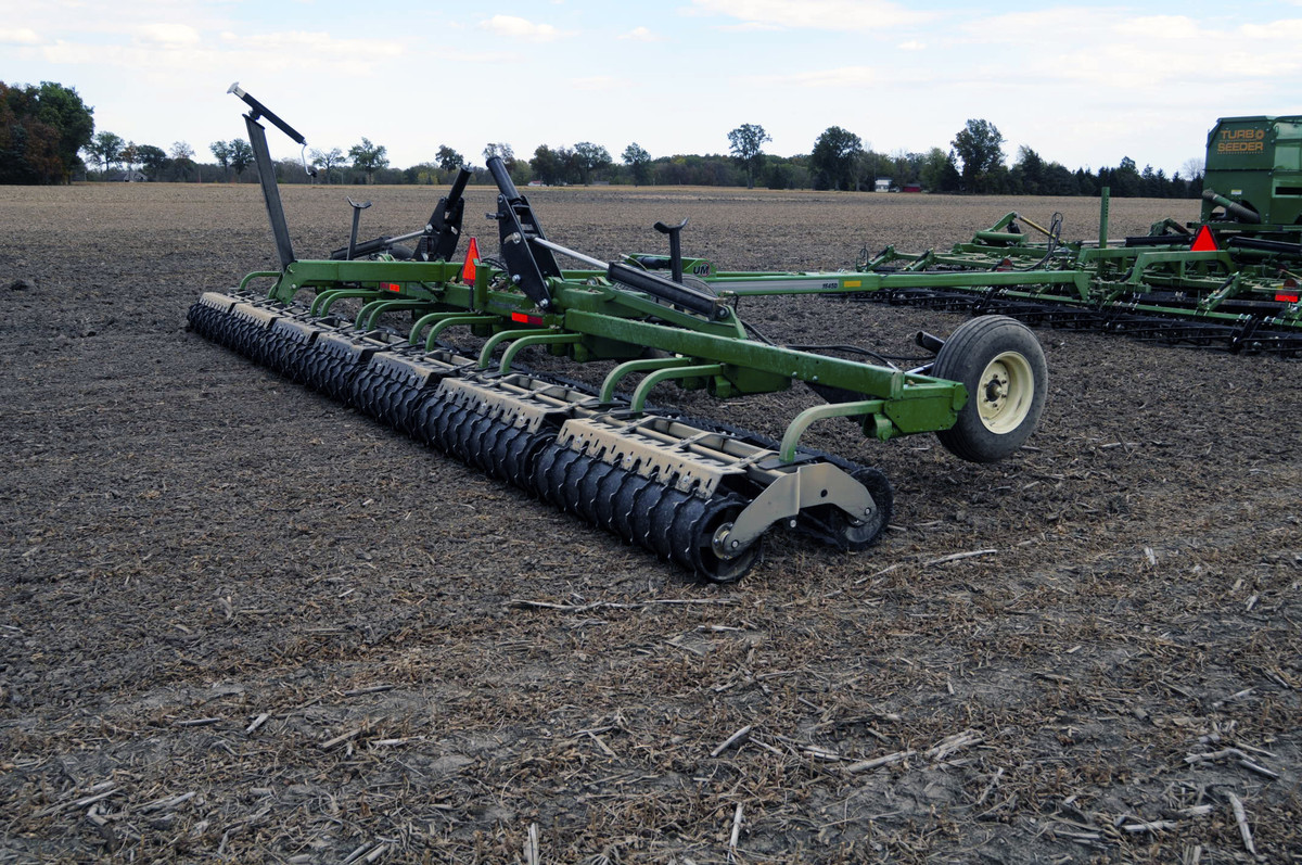 Rolling Basket Harrow : Rolling harrow d unverferth seedbed tillage