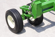 Oscillating Dual Tandem Wheels