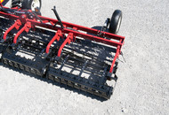 Rolling Harrow 1245D Drum Closeup