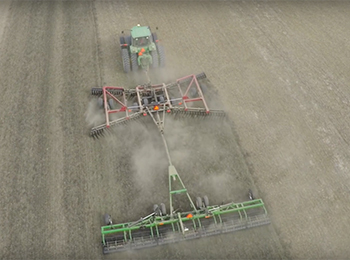 Rolling Harrow 1645 & 1645D Video