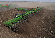 Single-Rolling Harrow Field