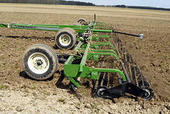 Rolling Harrow Double Basket Model 1225