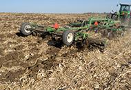 Rolling Leveler in Field