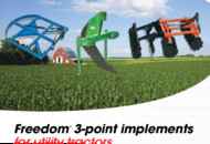 UM Tillage-Freedom 3-Point Tools