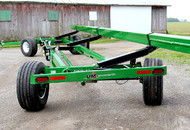 All Wheel Steer Header Transport with IF Tires