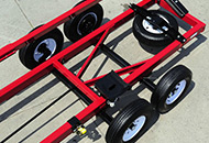 Heavy-duty Axles with Torsion Suspension