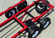 Heavy-duty Axles with Torsion Suspension