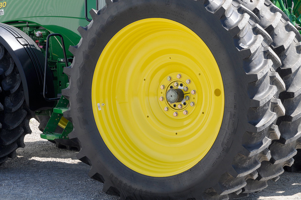 Tractor Wheel Rims : Direct axle dual wheels unverferth wheel products