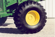 Custom-Built Rear Combine Wheels