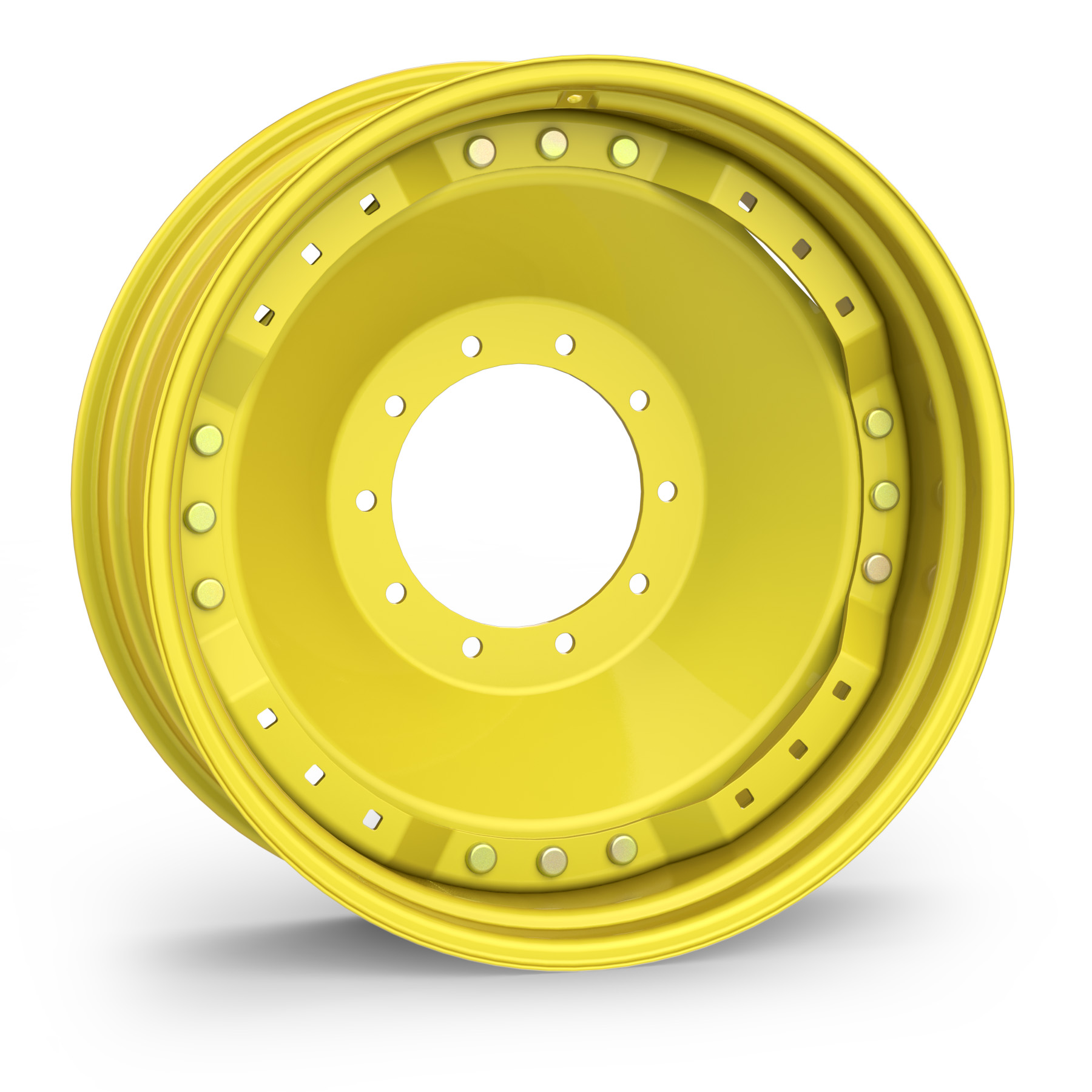 Agricultural Wheels Unverferth Wheel Products For Atlas Jack Plate Wiring Harness Yellow Waffle With Tire
